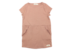 MarMar dress Dotta rose nut lurex