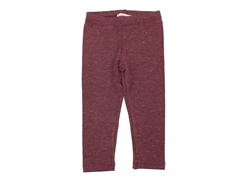 MarMar legging Lisa dark plum lurex