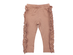MarMar pants Lina rose nut lurex