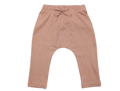 MarMar Pico pants rose nut lurex