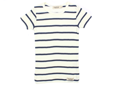MarMar t-shirt stripes gentle white/blue