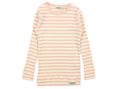 MarMar t-shirt modal stripes rose/off-white