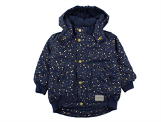 MarMar Ode winter jacket darkest blue starflake