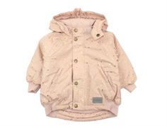 MarMar Ode winter jacket dusty rose starflake