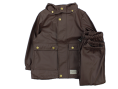 MarMar rainwear pants and jacket espresso