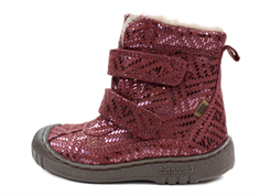 Bisgaard winter boot plume metal with velcro and TEX