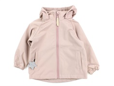 Mini A Ture Aden softshell jacket muted lilac