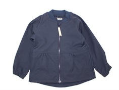 Mini A Ture softshell jacket Bridget blue nights