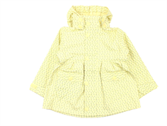 Mini A Ture Charlene raincoat yellow anise flower