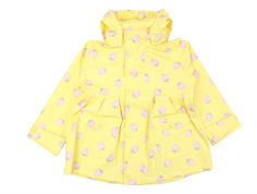 Mini A Ture Charlene raincoat pale banana strawberry