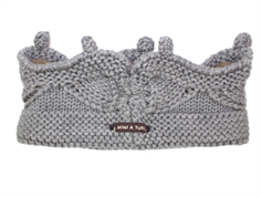 Mini A Ture Cinni headband gray melange