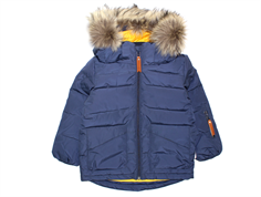 Mini A Ture Daren Fur Winter Jacket blue nights
