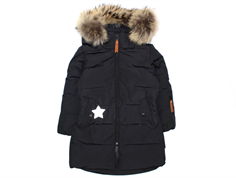 Mini A Ture Deja Fur winter coat black