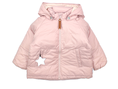 Mini A Ture Hajo down jacket/transition jacket pale mauve