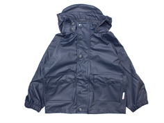 Mini a Ture Julien rain jacket ombre blue