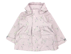 Mini A Ture Charlene raincoat violet ice birds