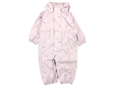 Mini A Ture Reinis rain suit violet ice birds