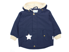 Mini A Ture Wally transition jacket blue nights