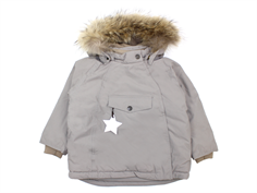 Mini A Ture winter jacket Wang Fur cloudburst gray