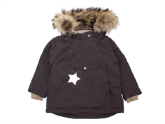Mini A Ture winter jacket Wang Fur licorise