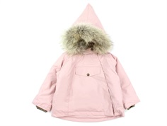 Mini A Ture winter jacket Wang Fur pale mauve