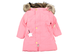 Mini A Ture winter jacket Wega Fur geranium pink