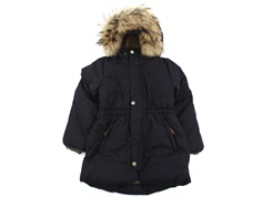 Mini A Ture winter jacket Wang Fur tap shoe black
