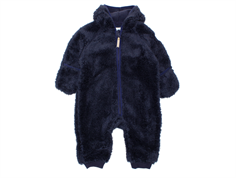 Mini a Ture fleece suit Adel graphite blue