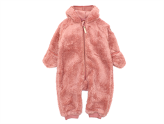 Mini a Ture fleece suit Adel old rose