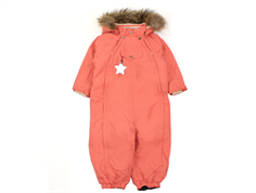 Mini A Ture snowsuit Wisti fur faded rose