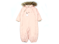 Mini A Ture snowsuit Wisti fur keen rose