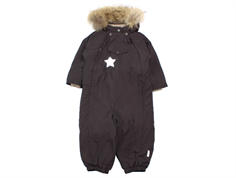 Mini A Ture snowsuit Wisti fur licorise