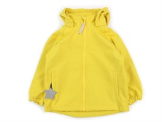 Mini A Ture Aden softshell jacket bamboo yellow
