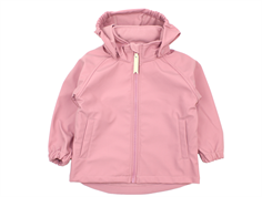 Mini A Ture Aden softshell jacket lilas rose