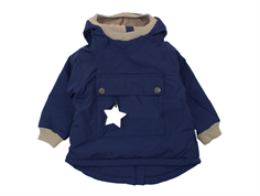 Mini A Ture winter jacket Baby Wen peacoat blue
