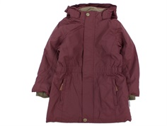 Mini A Ture winter jacket Vela catawba grape
