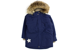 Mini A Ture winter jacket Walder Fur peacoat blue