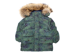 Mini A Ture winter jacket Wali Fur beetle print