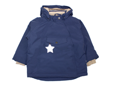 Mini A Ture winter jacket Wang peacoat blue