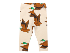 Mini Rodini leggings beige ducks