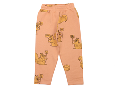 Mini Rodini sweatpants beige squirrel