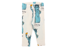 Mini Rodini leggings light gray liberty