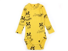 Mini Rodini body yellow mozart