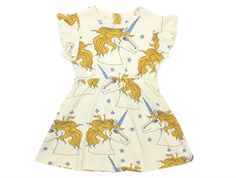 Mini Rodini Star Wing dress unicorn off white