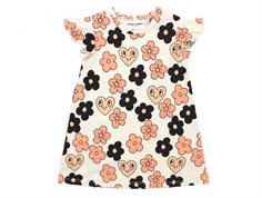 Mini Rodini Wing dress flowers off white