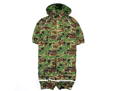 Mini Rodini snowsuit Alaska camo green