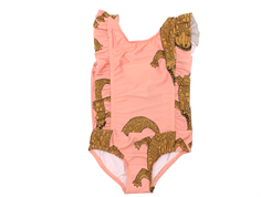 Mini Rodini swimsuit CROCCO pink