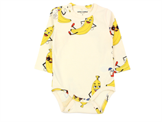 Mini Rodini body banana off-white