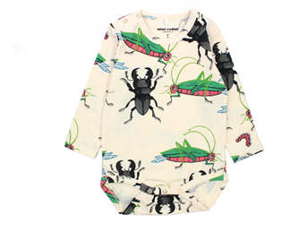 Mini Rodini body insects off white