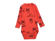 Mini Rodini body red mozart